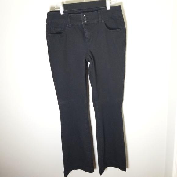 Torrid Black High Waist Boot Cut Black Jeans,  16R